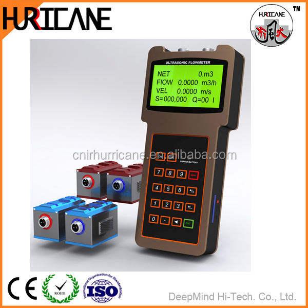 Hot sale waste water portable handheld magnetic flow meter price