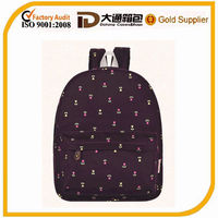 2014 low price high quality girl school bag ligh backpack for women cute lady school bag