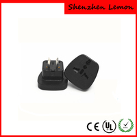 2 ways AU Australia 2 pin plug universal Travel Adapter US UK EU SWISS to AU plug travel adapter adaptor charger safety