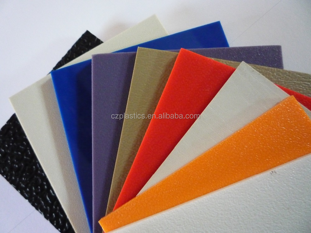 1mm-12mm thickness RAL color Smooth ABS Plastic Sheet for vacuum forming, incision carving
