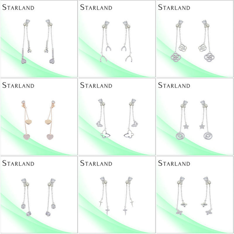 Starland Wholesale Milky Way Hot New Fashon Silver Earring Jewelry Co Ltd