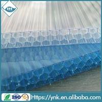 UNQ honeycomb panels clear plastic