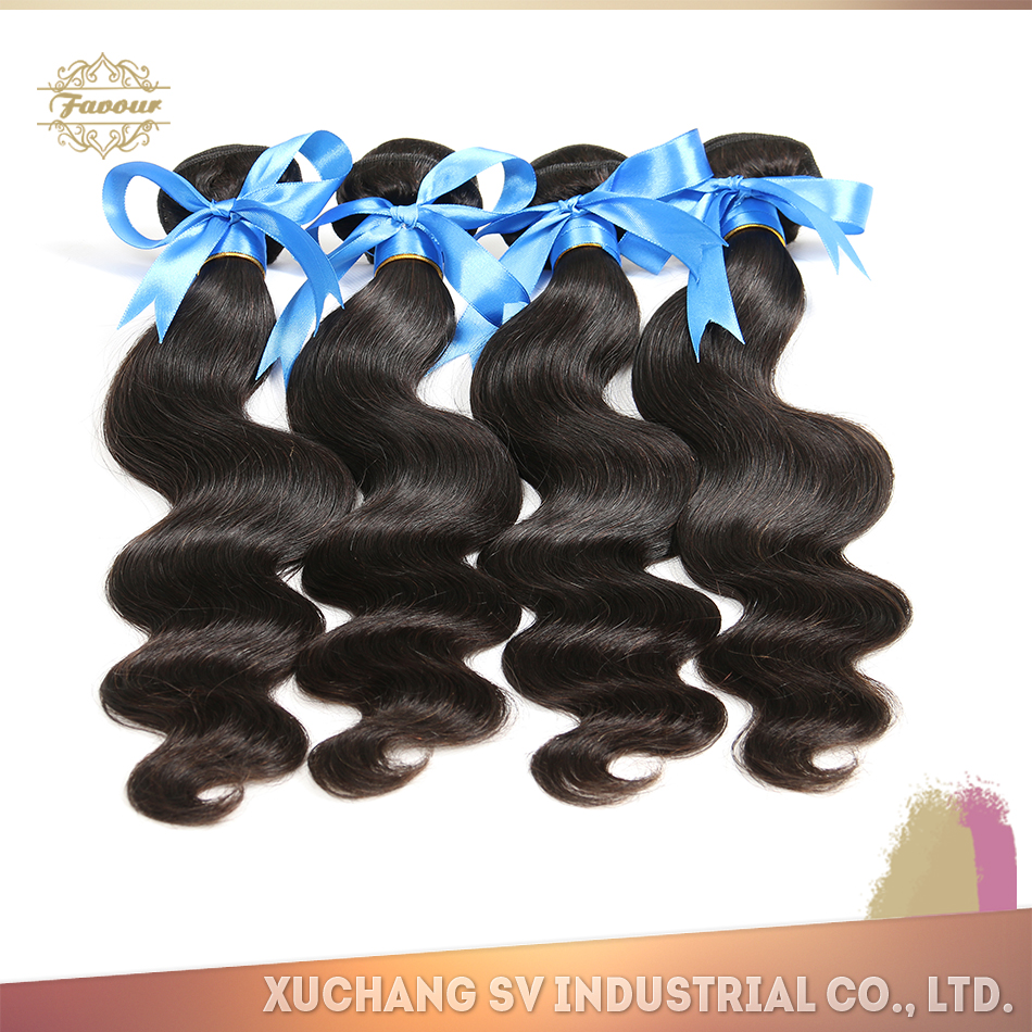 Premiun quality double drawn grade 6a virgin brazilian and peruvian hair china Xuchang SV virgin hair wholesale