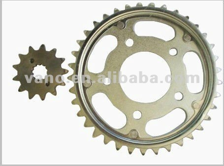 Cheap GS125 Motorcycle Alloy Chain Wheel