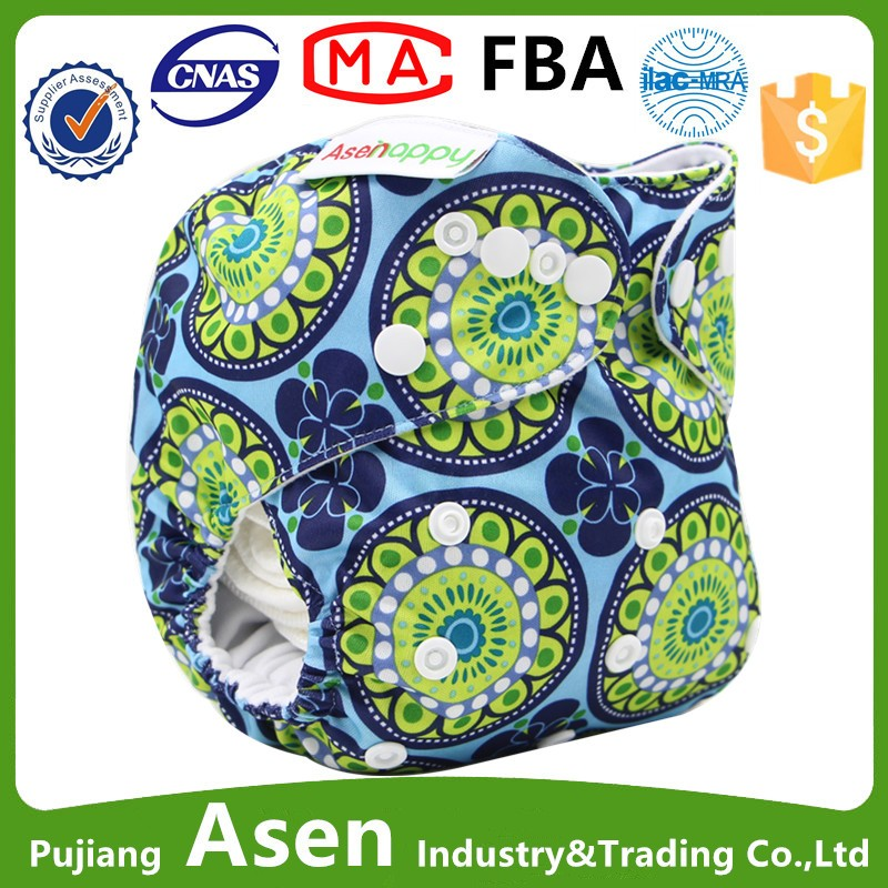 Asenappy Washable low price Cloth Diaper with pocket for your lovely baby