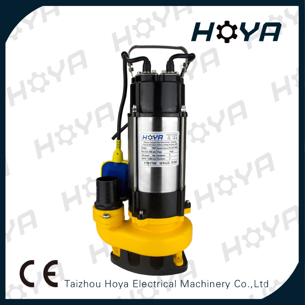 220V 750W electric submersible water pumps
