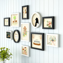 Best Sale Weeding Wood Wall Carved Photo Frame With Lower Price