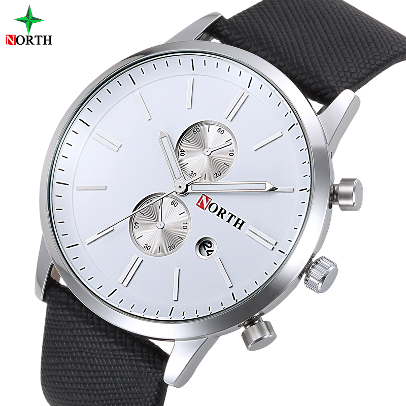 NORTH Brand Hot sale in Italian Small Dial Business Man Rohs Watch