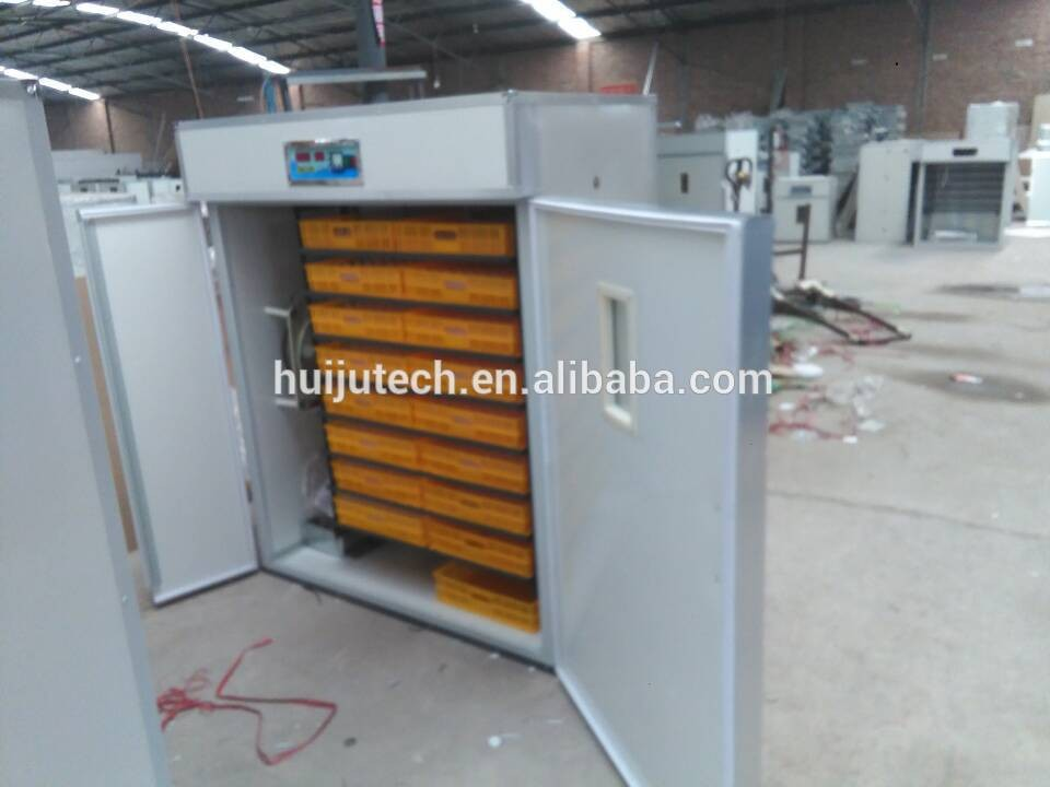 3 years warranty automatic egg incubators hatching machine for sale HJ-IH1408