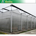 6mm twinball PC board greenhouse/Commercial high tunnel greenhouse for sale