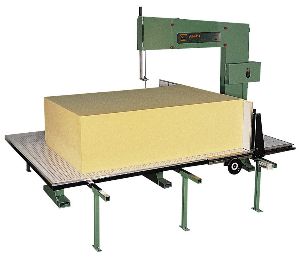 Sunkist Vertical PU Foam Cutting Machine