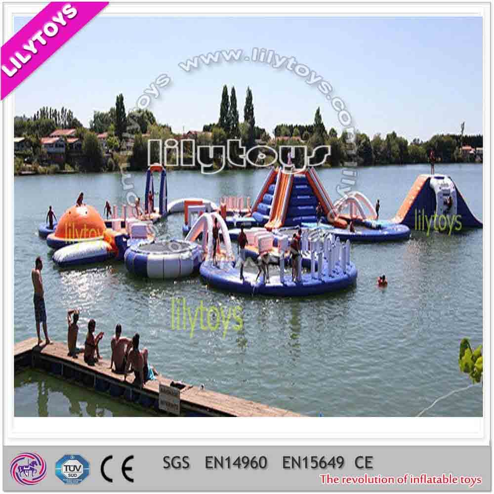 New design inflatable aqua park