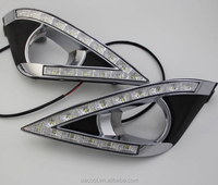 Special highlight LED day light with Cornering lamp night lamp for 13-14Toyota camry EX