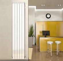 Copper aluminum composite column type radiator