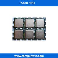 Cheap I7 870 dual core 2.93GHz lga1156 socket scrap cpu processor