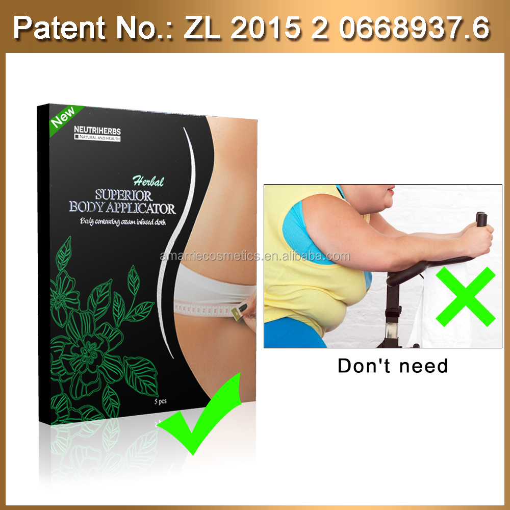 Natural ingredient weight loss product slim patch weight loss burning fat patch volanic clay organic cellulite Herbal Body Wrap
