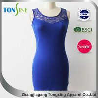 Summer hot sale women dress for lace
