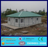 78m2 light steel frame prefab modular guest house low cost housing