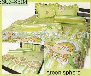 Sprei KING Green sphere