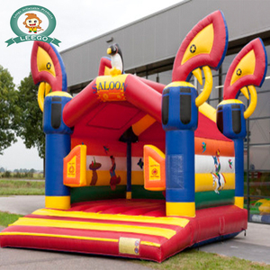 0.55mm PVC Tarpaulin inflatable bouncy castle cartoon bounce house cheap bouncer for kids and adults