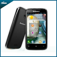 Lenovo A390T 4inch dual core dual SIM cards 512M 4G Android 4.0 multi-language low end price smart phone