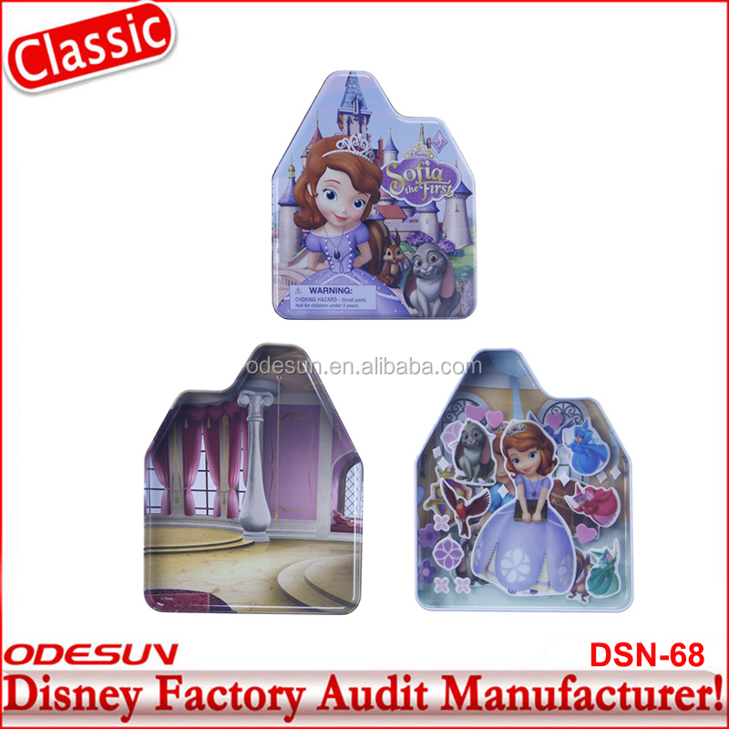 Disney Universal BSCI Carrefour Factory Audit Frozen Sophia New Products 2016 Innovative Sticker Stationery Set34