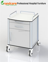 G-FW005 Medical Wall Side Cabinet With Universal Casters