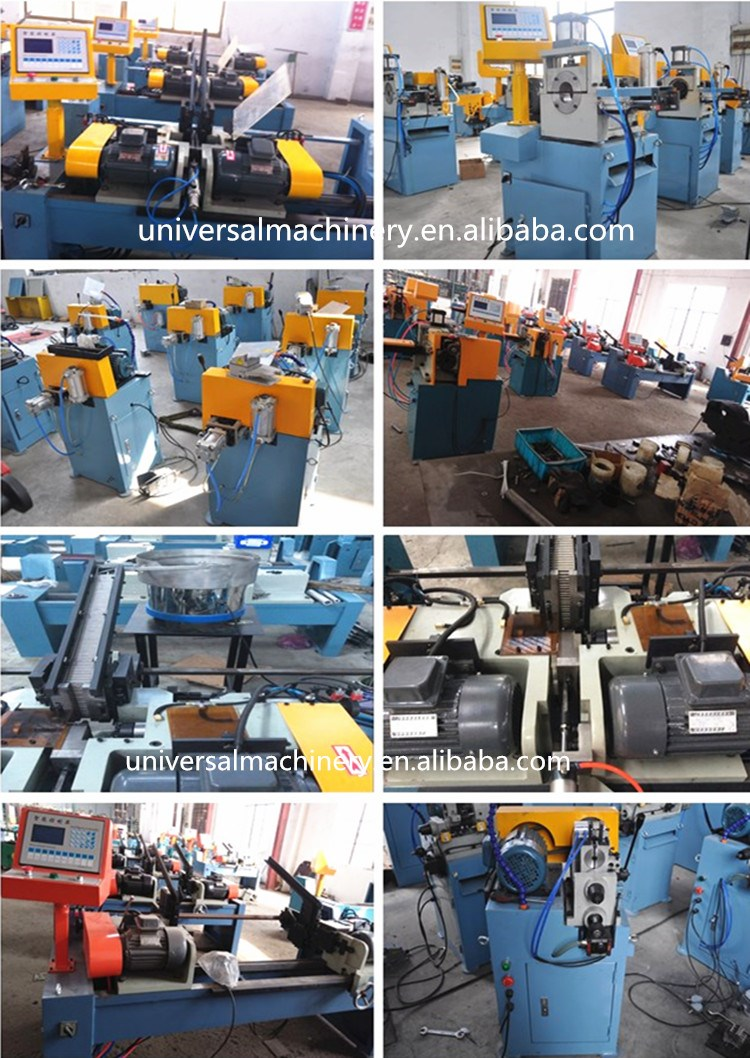 Pipe & Bar Automatic Double Head Chamfering Machine factory price