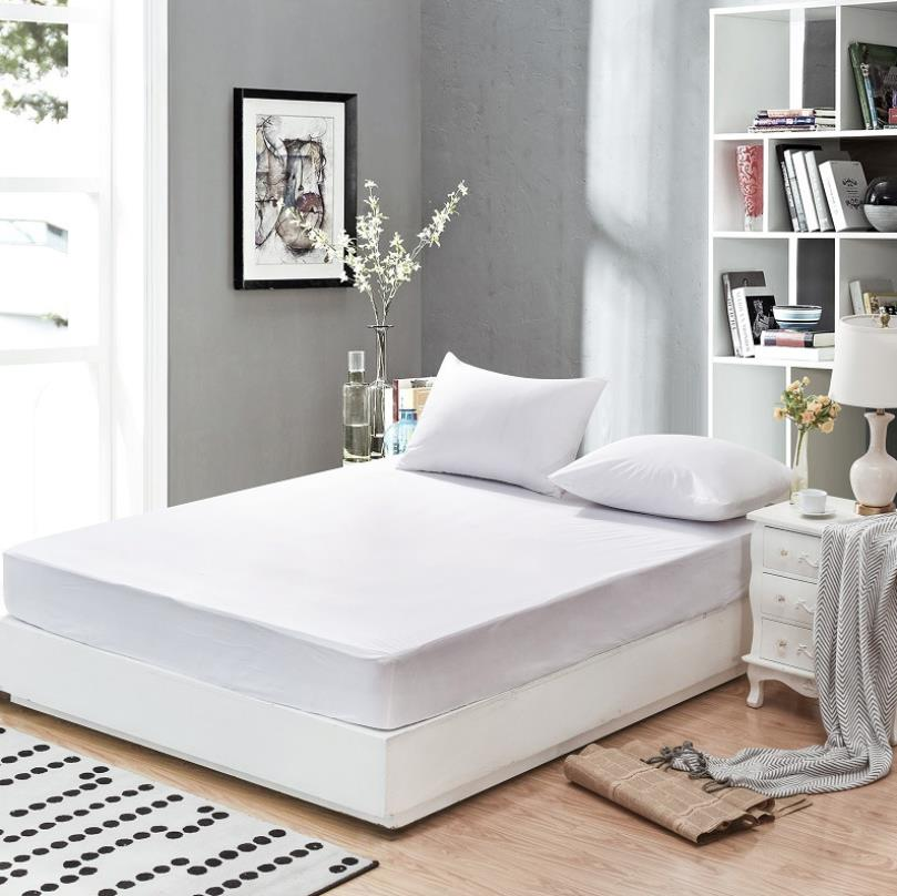 Hot Selling White Color Waterproof Bed Bug Mattress Pad Cover For Queen - Jozy Mattress | Jozy.net