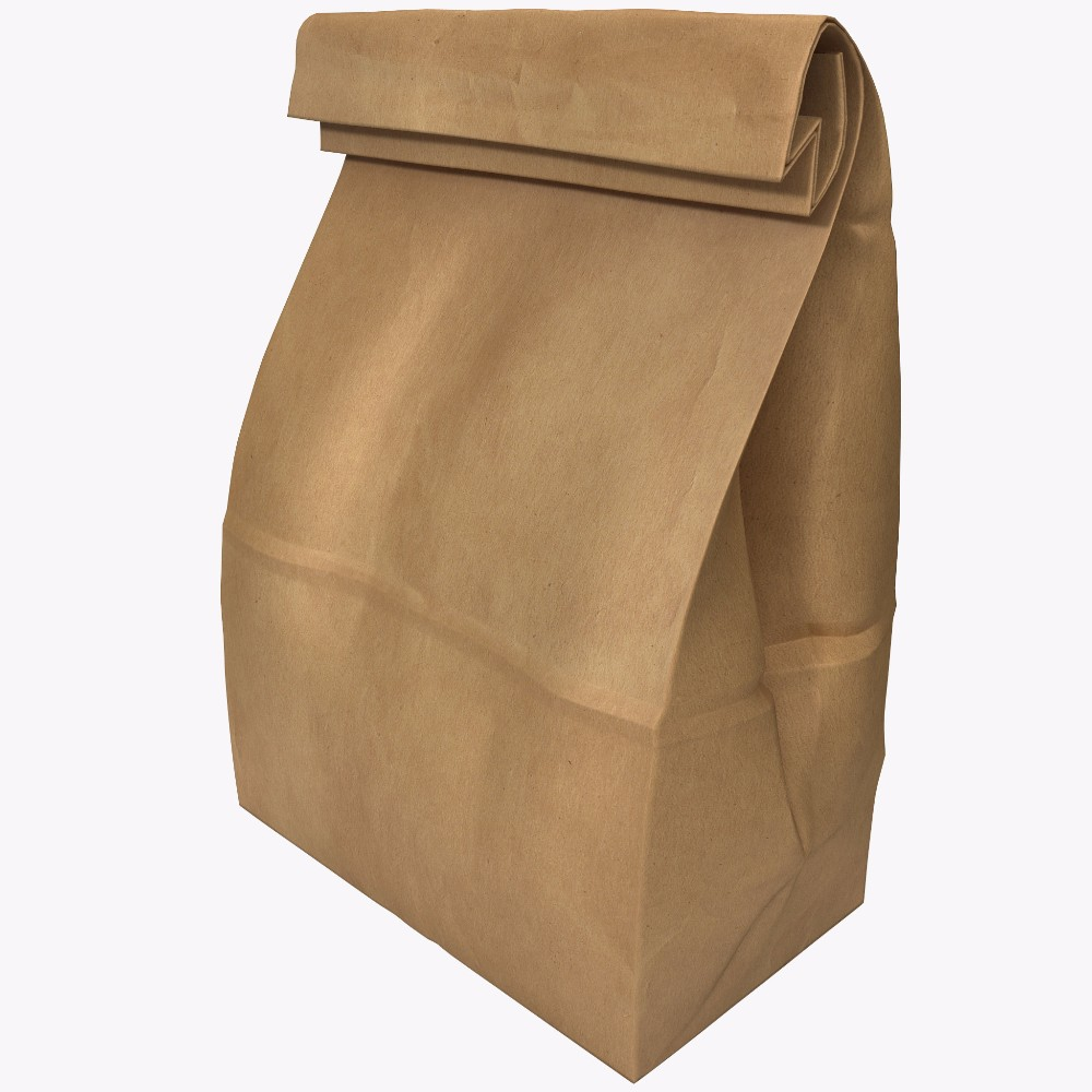 Hot stamping letterpress logo gift bag paper bag for Christmas Day