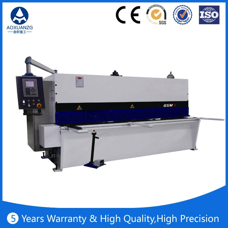 Quality cnc plate Hydraulic guillotine shearing machine,bakelite sheet cutting machine
