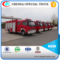 Dongfeng Double Cab 4x2 Small Emergence Fire Fighting Fire Pump Truck