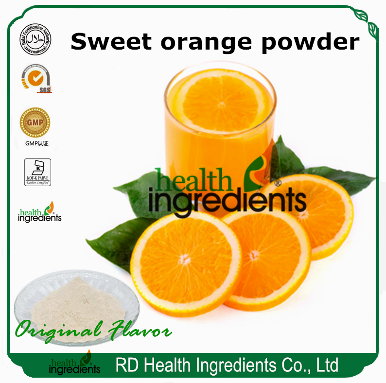 sweet orange juice concentrate powder