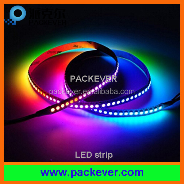 DC5V 144LEDs/m 144pixels/m dream color ws2812B LED strip