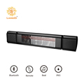 LIANGDI infrared outdoor heater with bluetooth speaker and LED atmosphere light