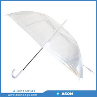 2014 Hot Sales Transparent POE Material Umbrella