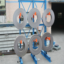 Industrial steel coil storage cantilever rack
