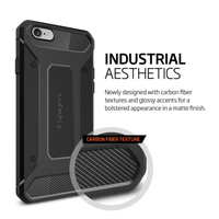 Wholesale [Armor Case] Shockproof Carbon Fiber Silicon Gel case soft TPU cell phone cover case for iPhone 6