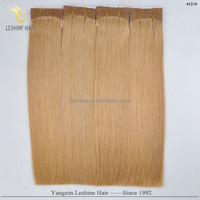 Hot Selling In 2015 Golden Supplier Top Quality No Shedding No Tangle 200g light strawberry blonde straight weaves 24??