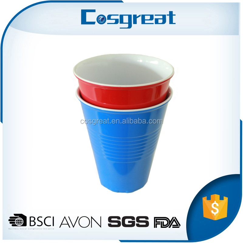 Wholesale OEM printing unbreakable melamine drinking cups for elderly