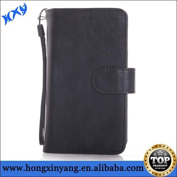 wrist strap leather cases for iphone 6 ,wholesale leather cases with wrist strap