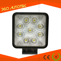 auto off road 4 inch c ree led work lamp 12V / 24V 4WD Work Light Spot/Flood Truck Car Boat Bar 4x4 led off road light 27w