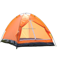 Waterproof 1-5 Person Tunnel Camping High strength glass fiber rod Tent