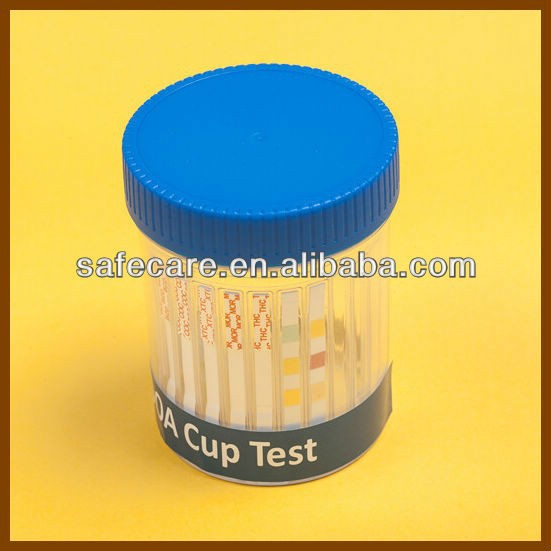 CE&ISO13485 Approved Medical Diagnostic One-Step Multi DOA Screen Test Cup