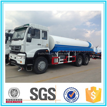 HOWO 6x4 driving type 20000 liters water tank truck for sale in dubai
