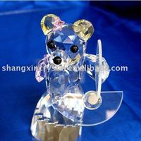 Crystal Gifts Crystal Bears For Wedding