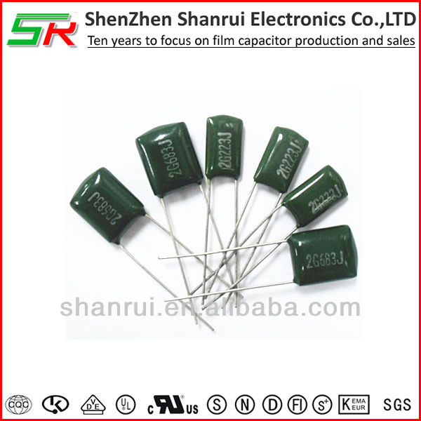Light weight and Low cost Polyester Film Capacitor for Radio