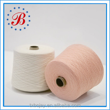 Organic Blended Yarn Hot Sale For Knitting NM 28/2 80% Cotton 20% Wool