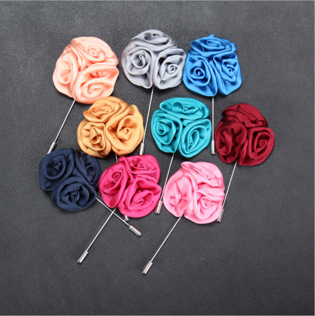Fashion Jewelry Wholesale Men and Women's Accessories Jewelry Korean Brooches Pins,Lapel Flower Handmade Brooch Pins
