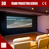 High class presentation equipment wall mounting movie projection screen